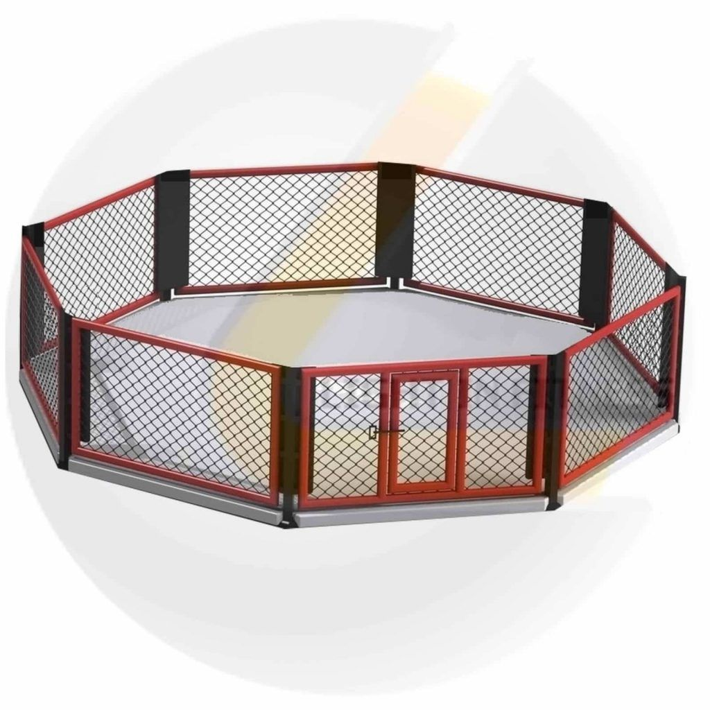 Cage MMA au Sol 6m x 6m