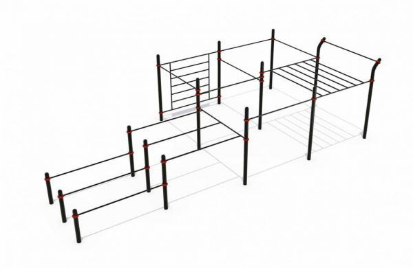 Cage street workout power