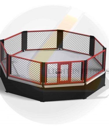cage podium mma logo