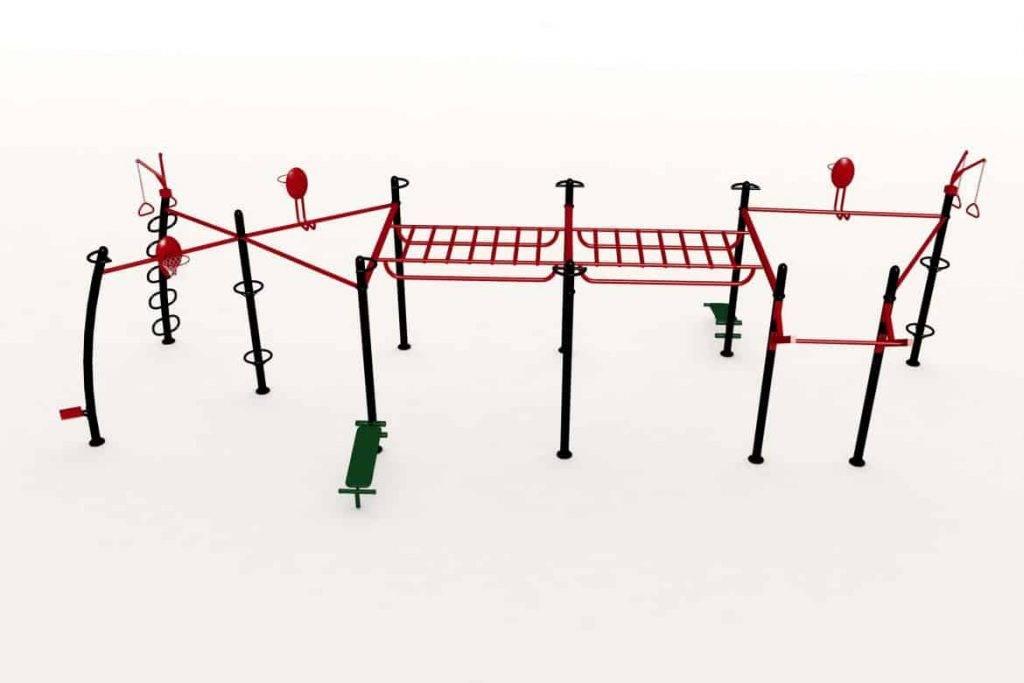 Cage Crossfit Extérieure Maxcomb