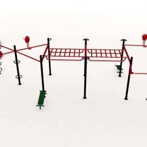 Cage Crossfit Extérieur Maxcomb