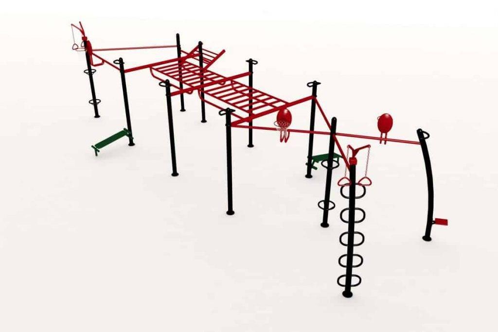 Cage Crossfit Exterieure Maxcomb