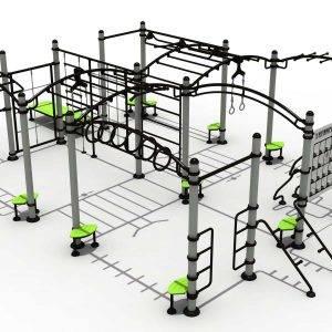Station de fitness extérieur WD-ZQ001