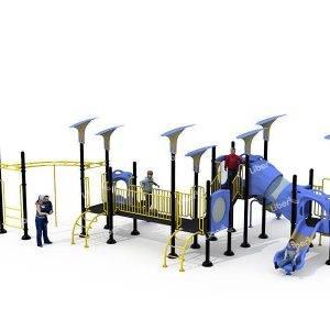 Glissiere combinee Little Doctor Kindergarten Swing