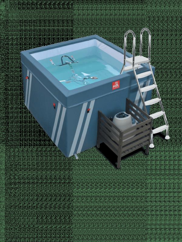 Bassin d'aquabike Waterflex